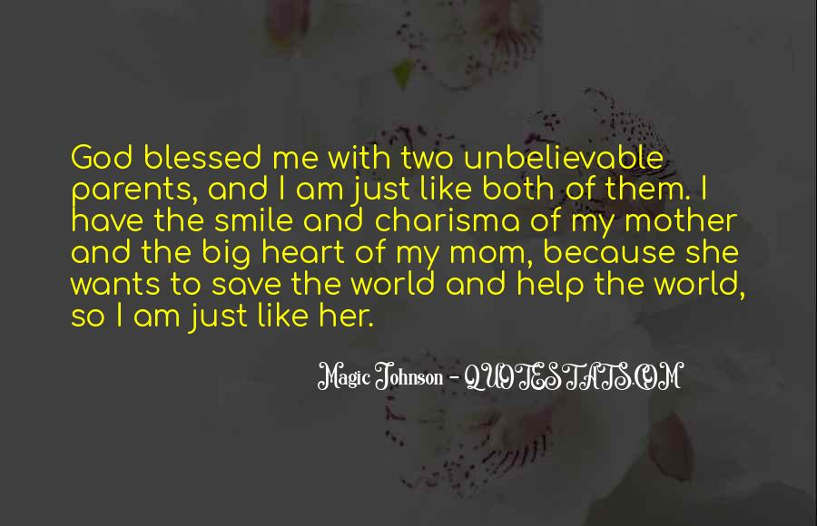 Blessed Because Of You Quotes #257622