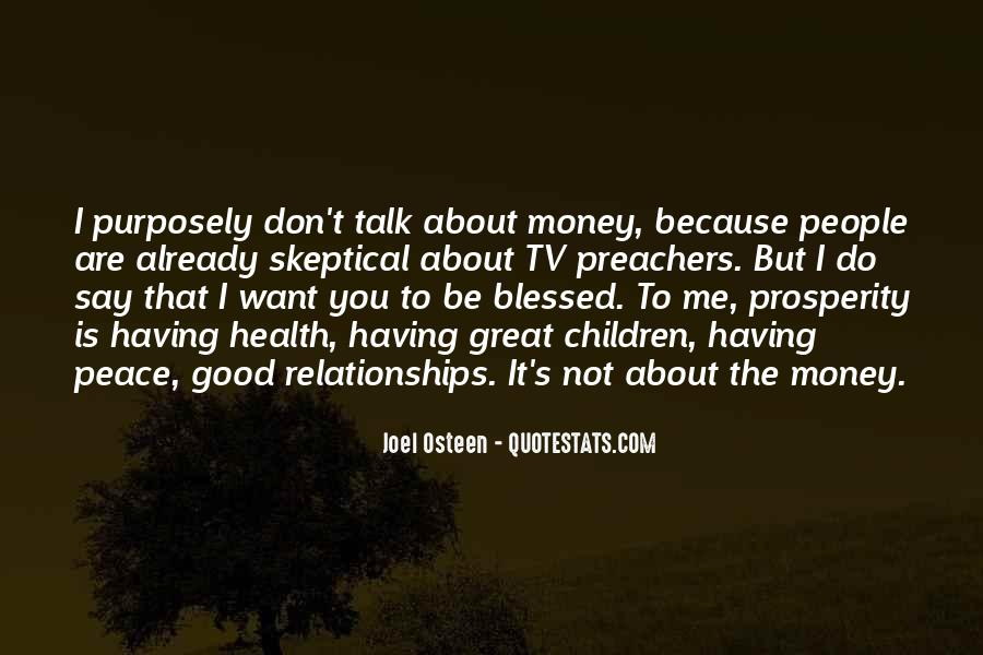 Blessed Because Of You Quotes #48953