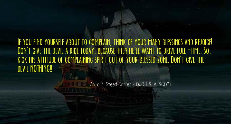 Blessed Because Of You Quotes #938438
