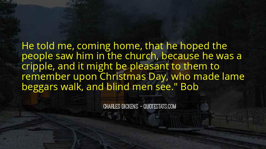 Blind To See Quotes #139122