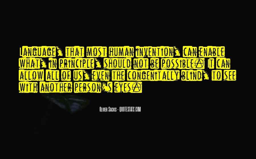 Blind To See Quotes #57174