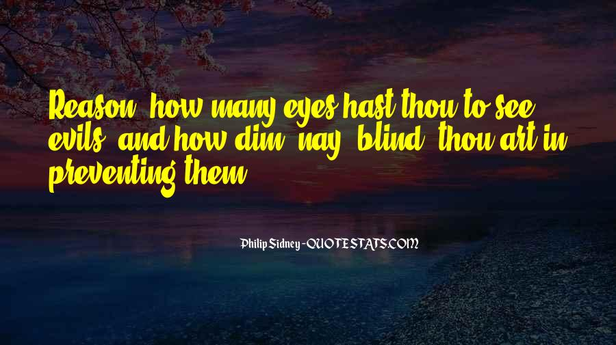 Blind To See Quotes #72144
