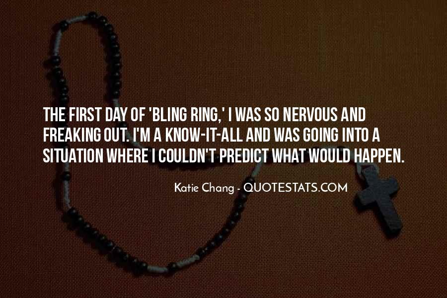 Bling Out Quotes #361665