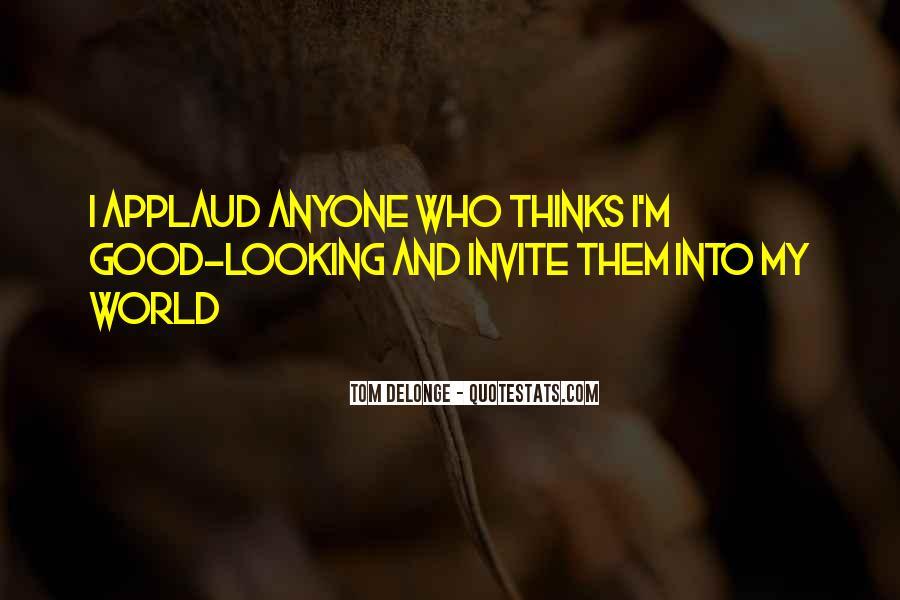 Blink 182 Tom Delonge Quotes #339009