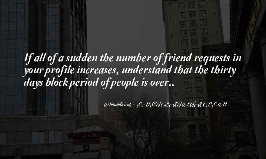 Block On Facebook Quotes #548231