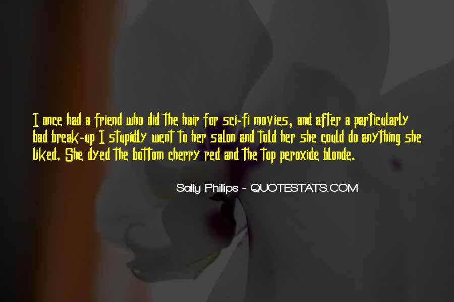 Blonde Friend Quotes #1372747