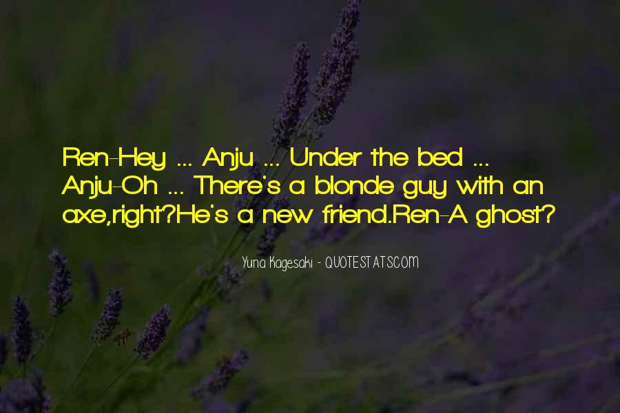 Blonde Friend Quotes #144999