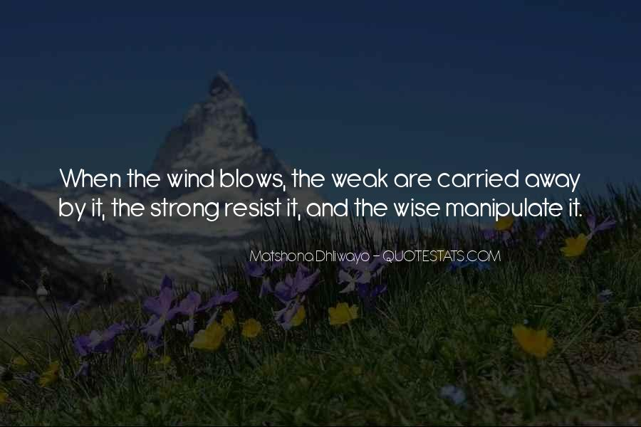Blows Best Quotes #28986