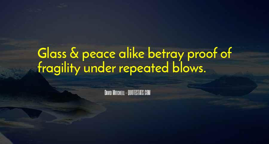 Blows Best Quotes #32153
