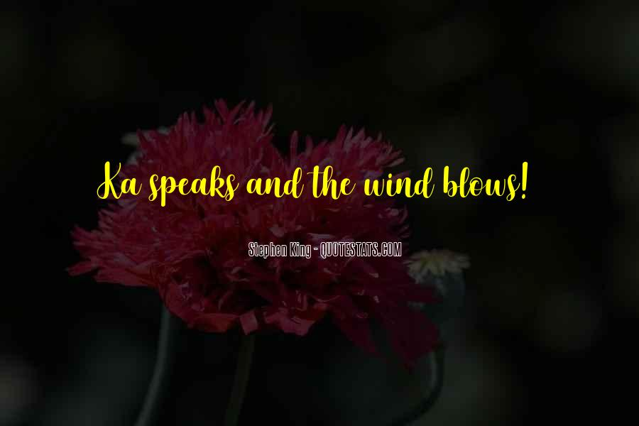 Blows Best Quotes #5603