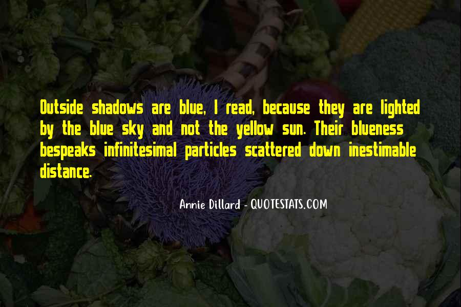 Blue And Yellow Quotes #1185248