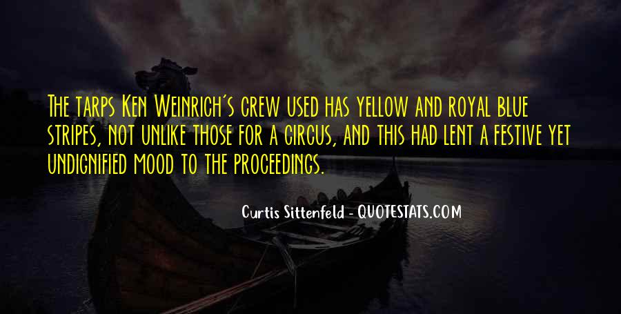 Blue And Yellow Quotes #120106