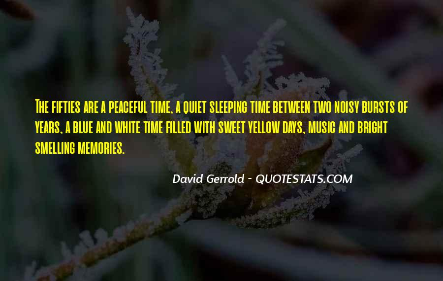 Blue And Yellow Quotes #1247496