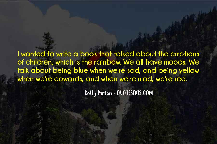 Blue And Yellow Quotes #1337088