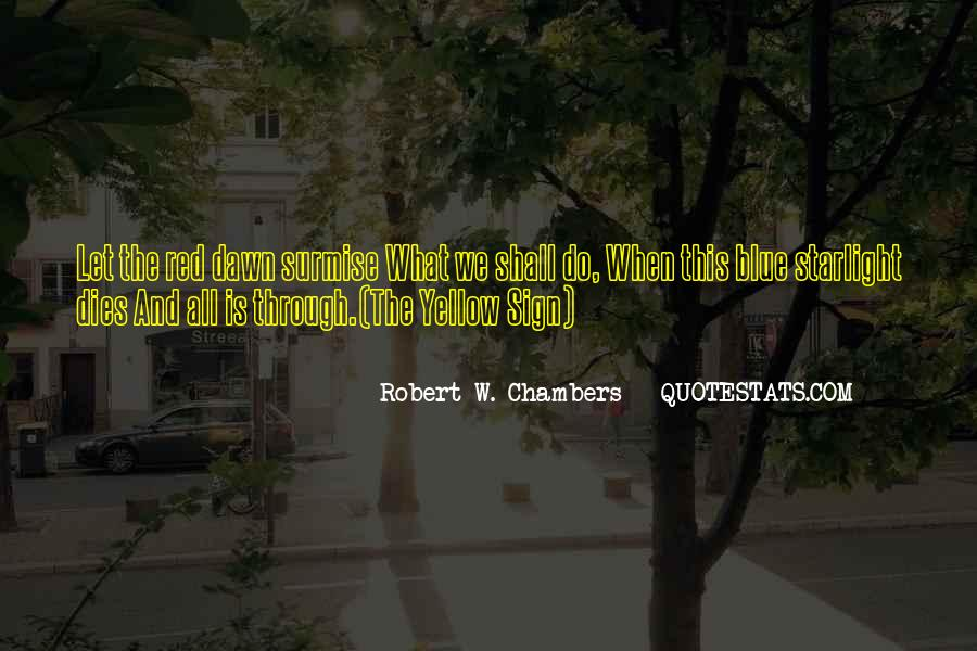 Blue And Yellow Quotes #140470
