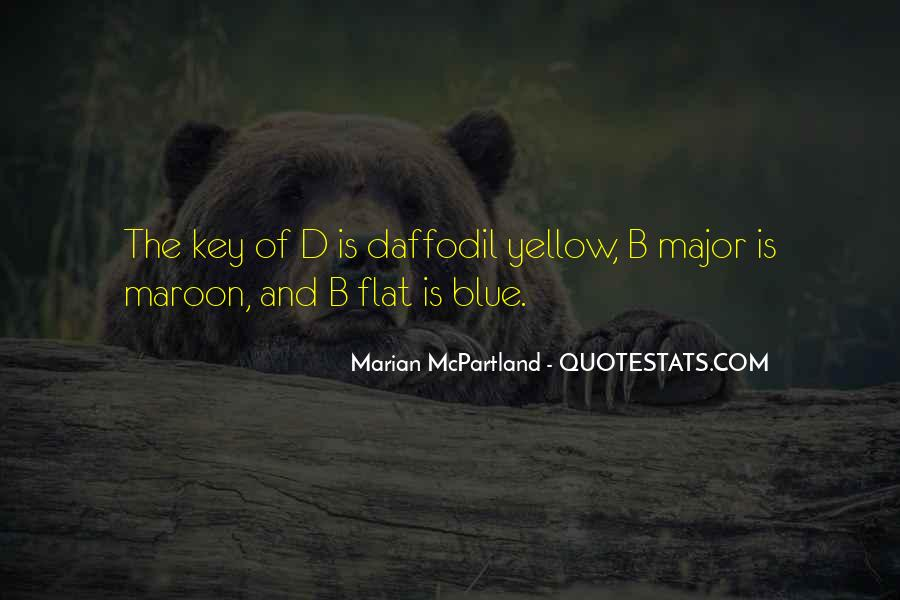 Blue And Yellow Quotes #1471942