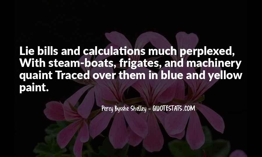 Blue And Yellow Quotes #169817