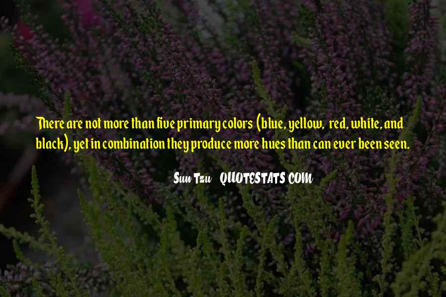 Blue And Yellow Quotes #5152