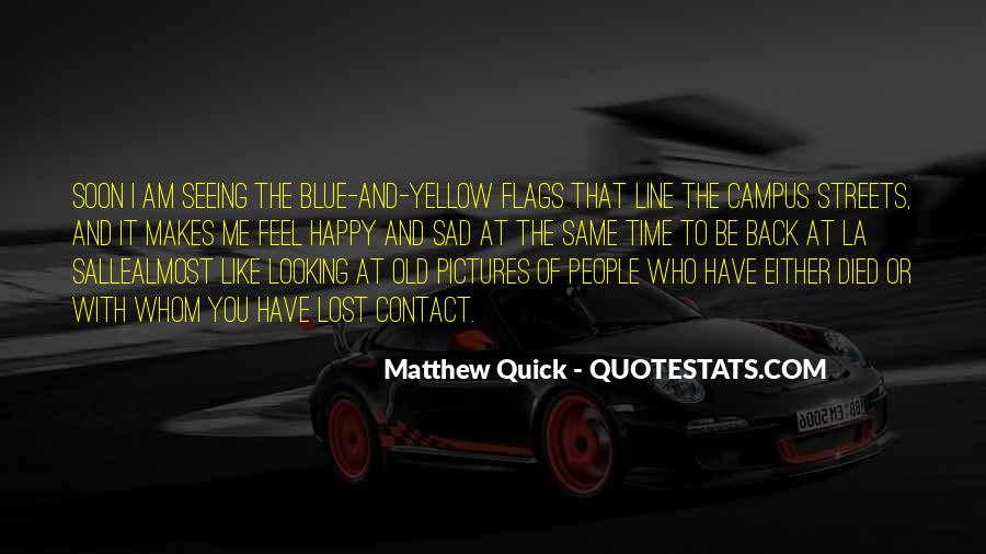 Blue And Yellow Quotes #520234