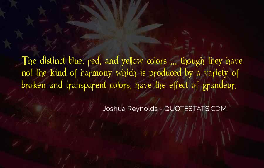 Blue And Yellow Quotes #646100