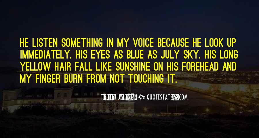 Blue And Yellow Quotes #653076