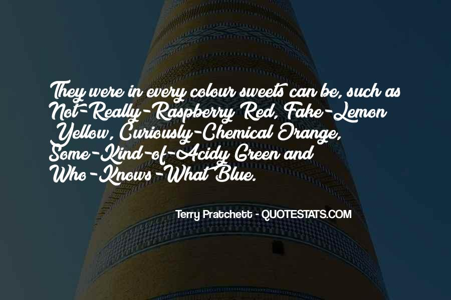 Blue And Yellow Quotes #724899