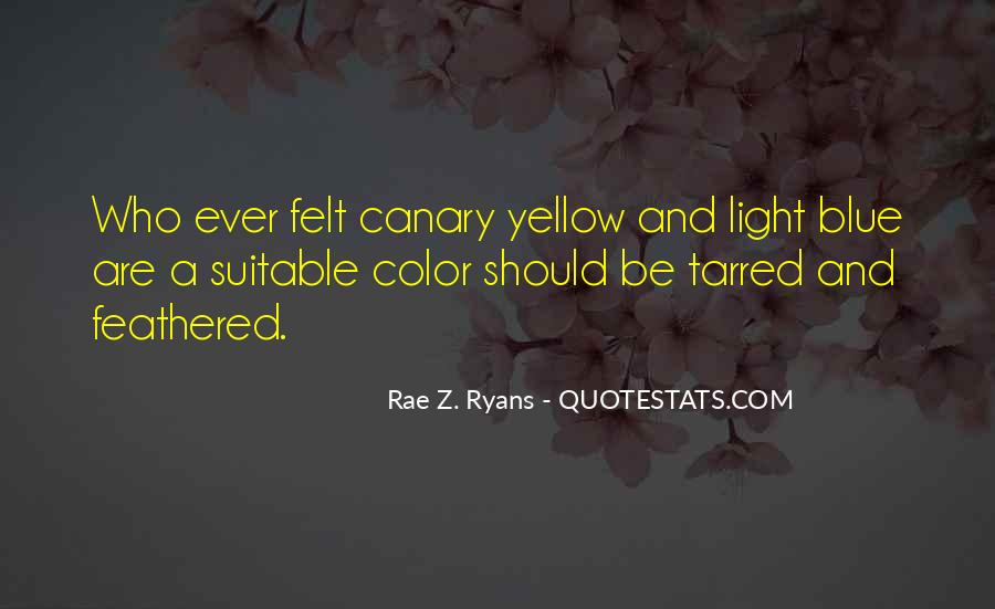 Blue And Yellow Quotes #835564