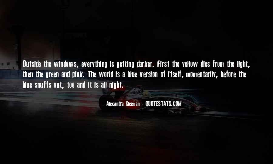 Blue And Yellow Quotes #865131