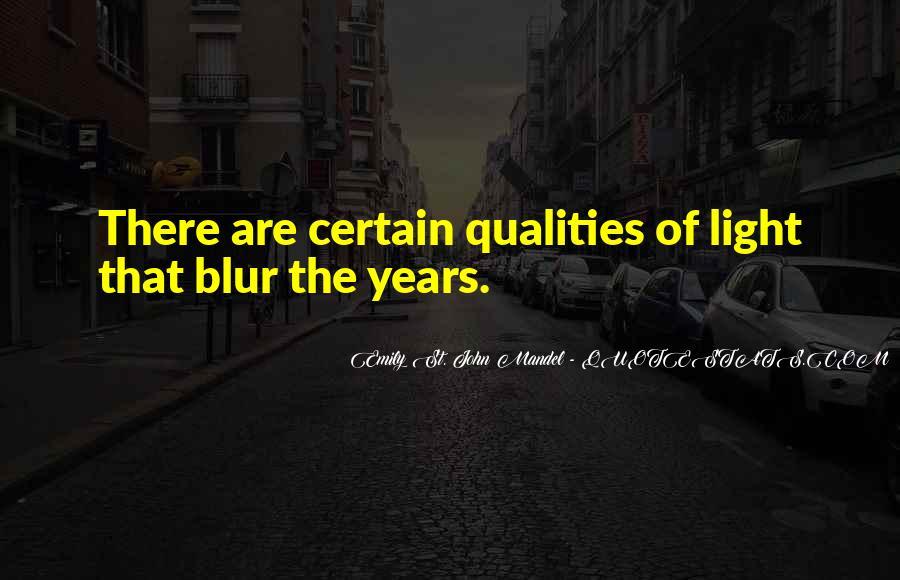 Blur Light Quotes #1478865