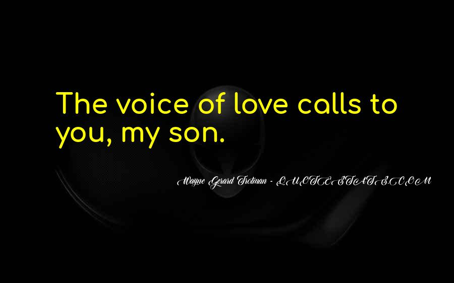 Quotes About Love To Son #407529