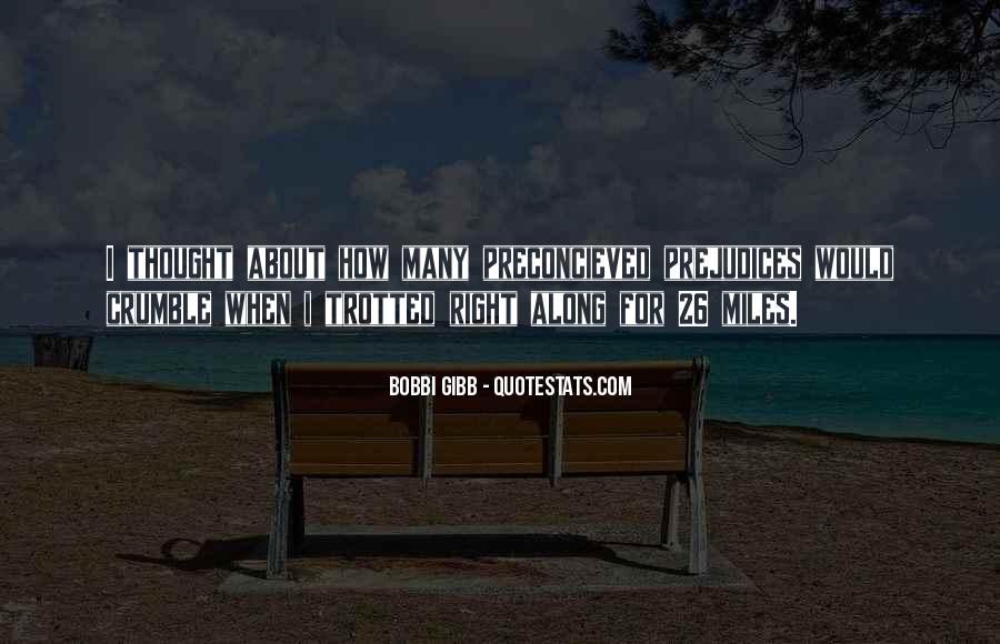 Bobbi Miles Quotes #84982