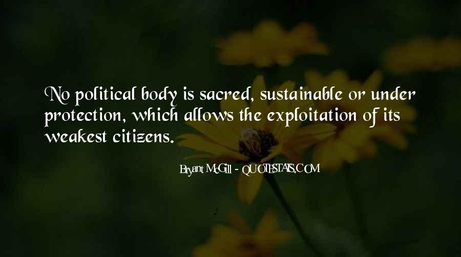 Body Is Sacred Quotes #622702