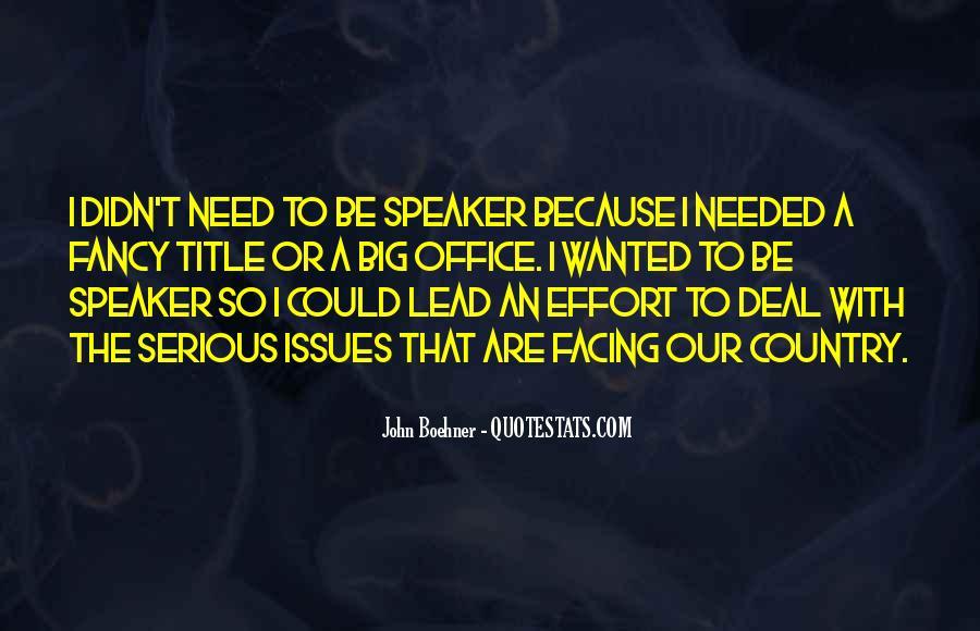 Boehner Quotes #1200541