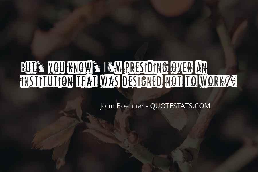Boehner Quotes #791192