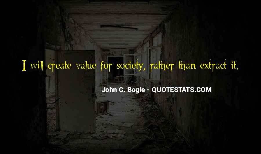 Bogle Quotes #1018717