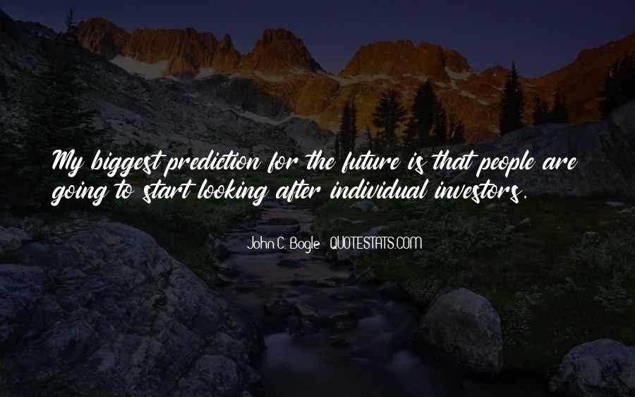 Bogle Quotes #1040758