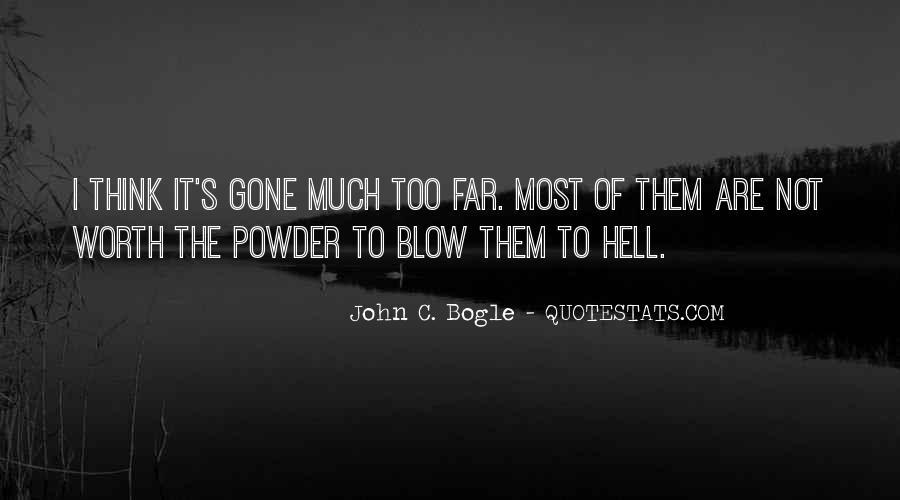 Bogle Quotes #1665954