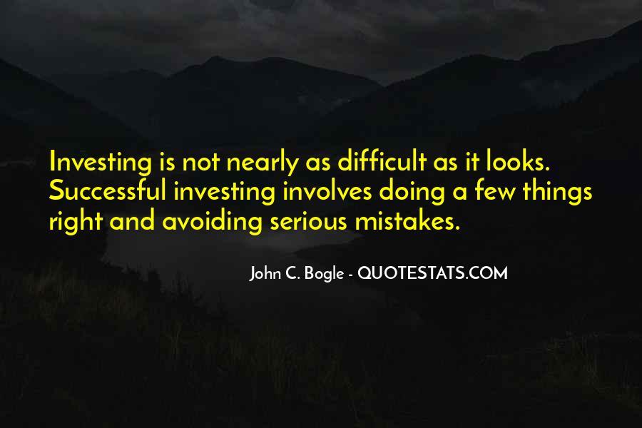 Bogle Quotes #919569