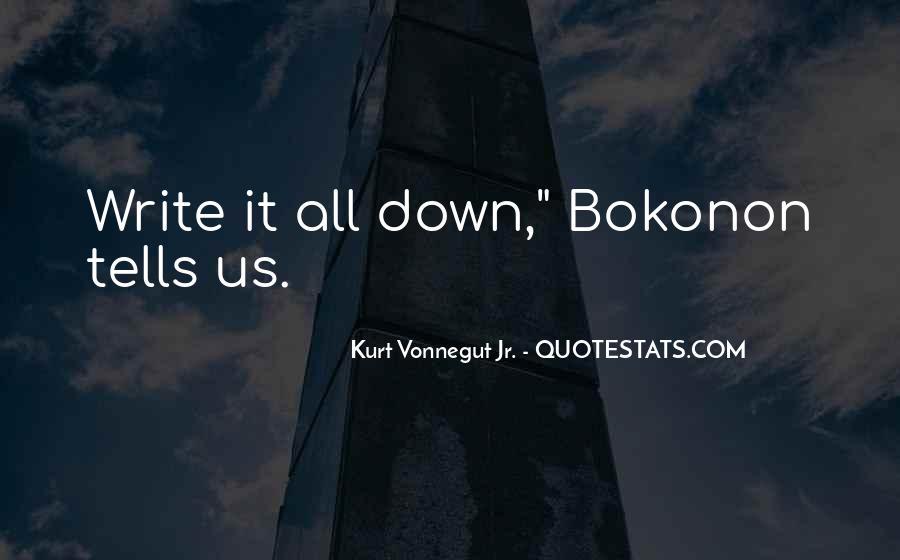 Bokonon Quotes #1376947