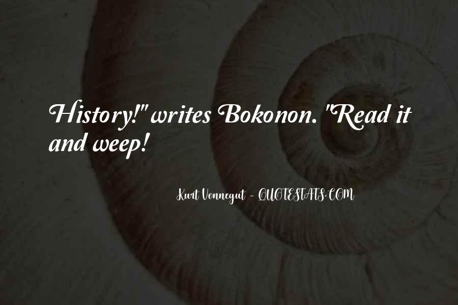 Bokonon Quotes #1498491