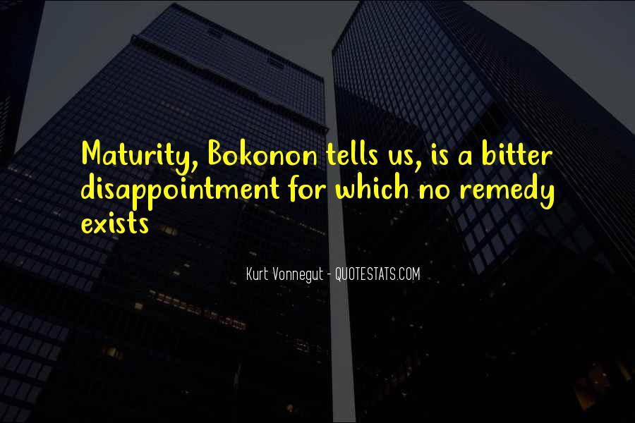 Bokonon Quotes #612382