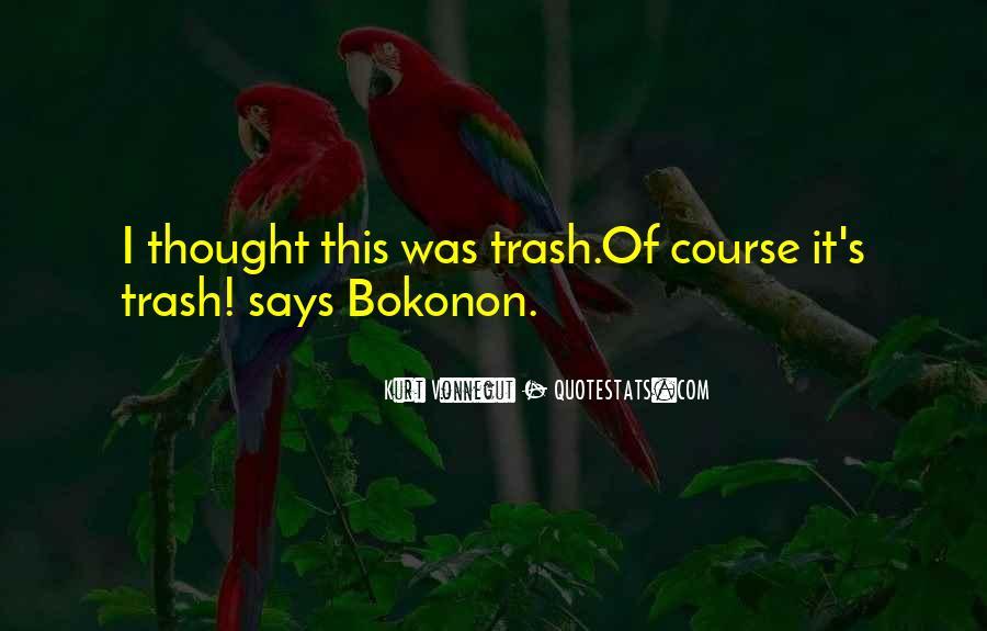 Bokonon Quotes #738400