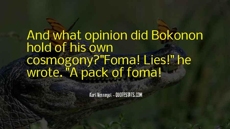 Bokonon Quotes #882862
