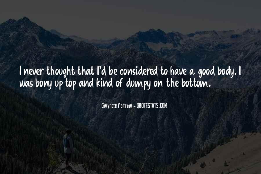 Bony T Quotes #7192