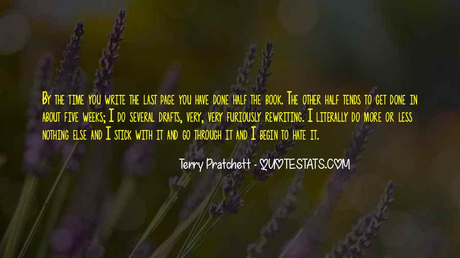 Book And Writing Quotes #10774
