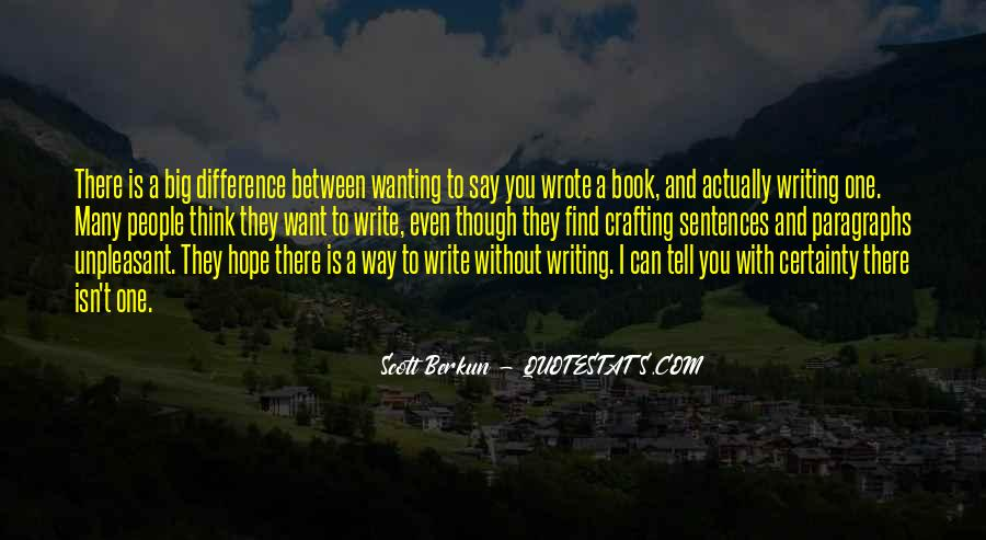 Book And Writing Quotes #112876