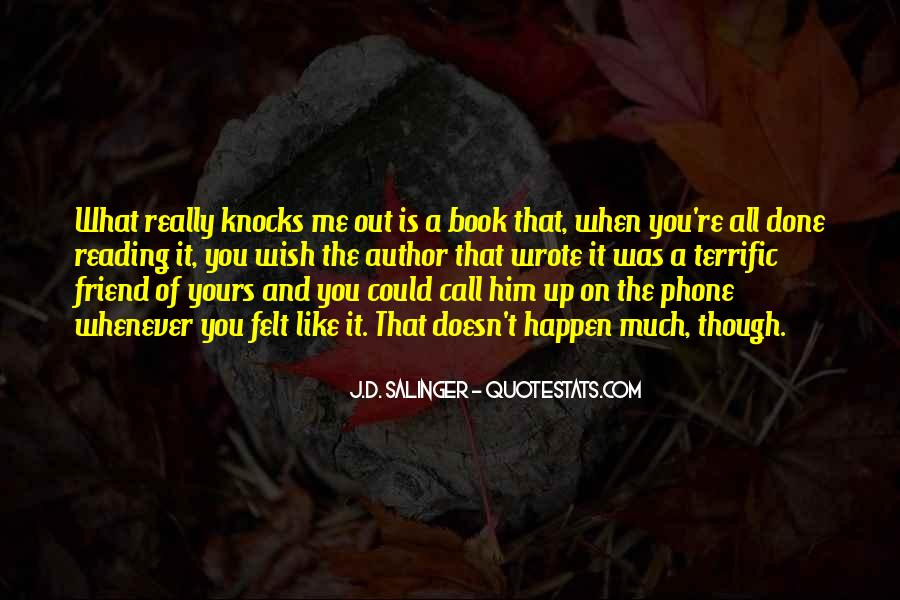 Book And Writing Quotes #118500