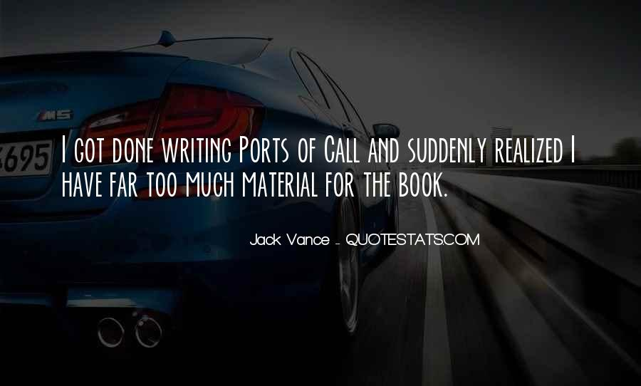 Book And Writing Quotes #159517