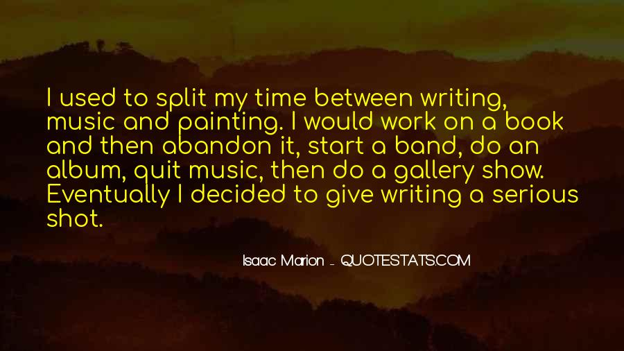 Book And Writing Quotes #33360