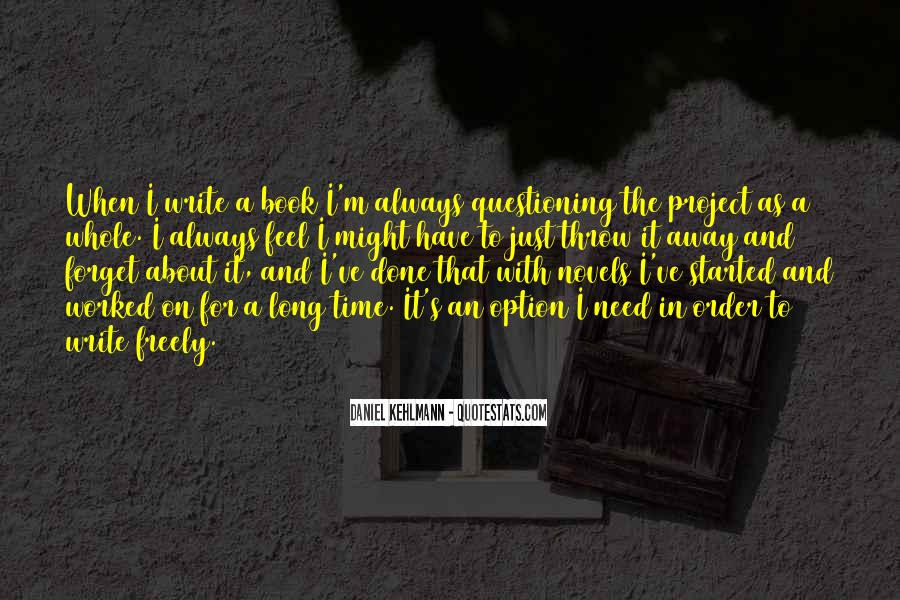 Book And Writing Quotes #63488